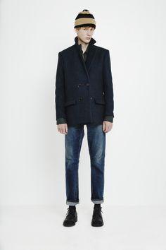 La Cour Jacket, Black Iris   Won Hundred
