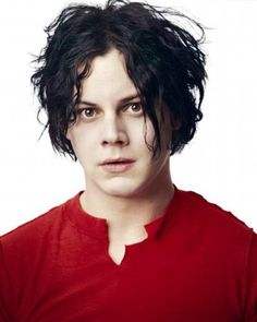Young Jack White when he was in The White Stripes