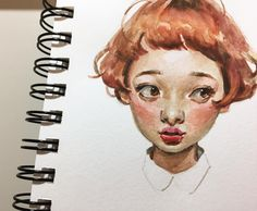"""""""You make me blush""""🌸 . Here's a relaxing portrait study in gouache to end what was a bit of a rough week for me. Happy though to say that… """"You make me blush""""🌸 . Here's a relaxing portrait study in gouache to end what was a bit of a rough week for … Watercolor Face, Watercolor Portraits, Watercolor Illustration, Watercolor Paintings, Watercolor Trees, Watercolor Landscape, Abstract Paintings, Painting Art, Gouache"""