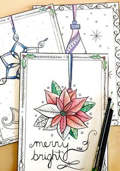 Christmas Tree Ornaments Advent Calendar Coloring Book by Amalia Hillmann of The Eclectic Illustrator Colorful Christmas Tree, Christmas Colors, All Things Christmas, Christmas Tree Ornaments, Calendar Pages, Advent Calendar, Coloring Books, Coloring Pages, Paper Chains