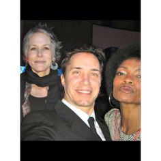 Maria Howell with Carol, of Walking Dead, Melissa McBride Talent Agent, Melissa Mcbride, The Walking Dead, Couple Photos, Couples, Couple Pics, Couple Photography, Couple, Walking Dead