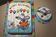 Toopy & Binoo Birthday Toopy & Binoo first birthday cake with the smash cake First Birthday Cakes, 2nd Birthday Parties, Birthday Bash, Birthday Ideas, Party Themes, Party Ideas, Fancy Cakes, Fun Crafts, First Birthdays