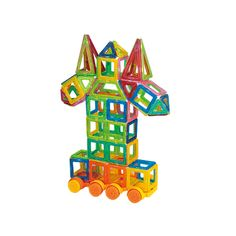 Magnetic Building Blocks Mini 132pcs Models Building Toy Kit Magnetic Designer Brick Technics Learning Education Toys For Kids