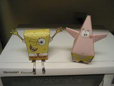 SpongeBob Squarepants ~ Paperkraft.net - Free Papercraft, Paper Model, & Papertoy