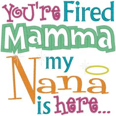 gamecock nana | Sayings (A377) Nana is here Applique 6x10