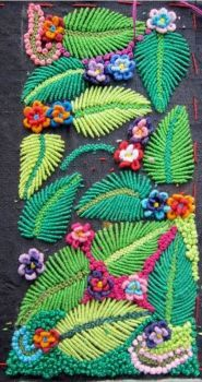 floral embroidery (220 pieces)
