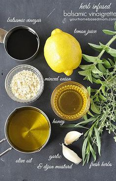 Kaila's Place| Herb Infused Balsamic Vinaigrette