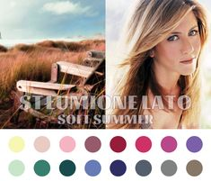 Soft Summer color palette #coloranalysis