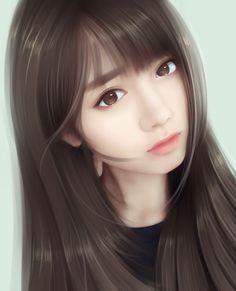 art, girl, and beautiful girl image Beautiful Girl Wallpaper, Beautiful Girl Drawing, Beautiful Anime Girl, Korean Art, Asian Art, Girl Pose, Beautiful Girl Image, Beautiful Women, Beautiful Images