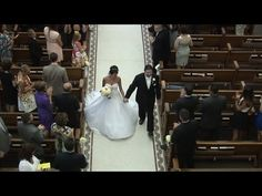 Sacred Heart Catholic Church, Tampa, FL Wedding Higlights.  For more Tampa Videos see http://celebrationsoftampabay.com/wedding-videographers-tampa/