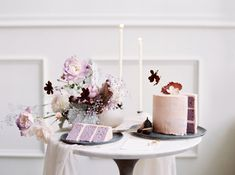 Pink and Lavender Wedding Cake Design at Tendue Portland - photography by Silvius James Wedding Cake Designs, Wedding Cakes, Fun Desserts, Awesome Desserts, Bridal Jumpsuit, Breakfast Cake, Wedding Vendors, Victorian Fashion, Art Photography