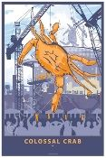 Artwork at Maine Cottage | Colossal Crab - Poster