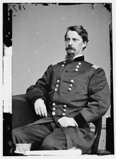 Union General Winfield Scott Hancock, wounded at Gettysburg