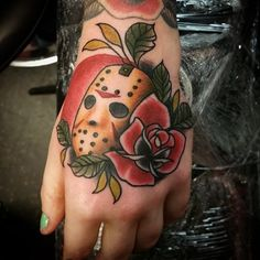 Jason mask friday 13th tattoo