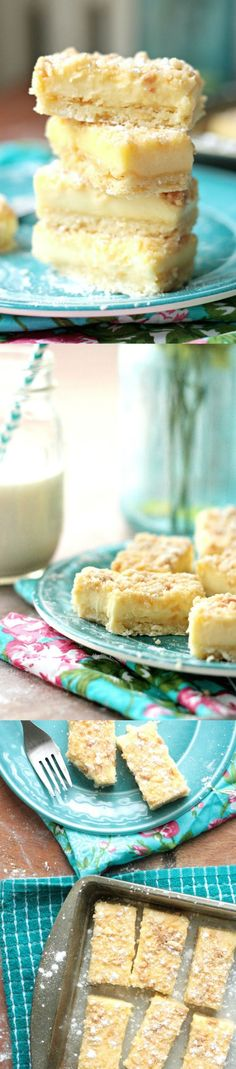 This delicious cookie lemon bars recipe is the the most perfect combination of chewy cookies and creamy lemon bars - they will melt in your mouth!