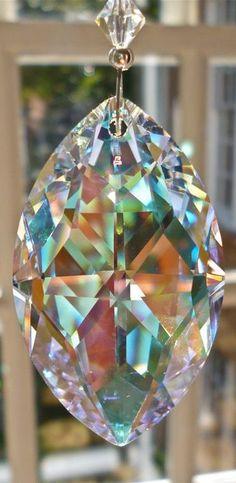 Iridescent Swarovski Crystal
