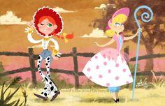 Toy Story Bo Peep | Toy Story