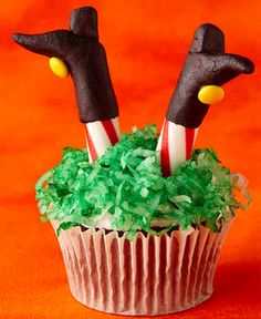 witch cupcake :-)