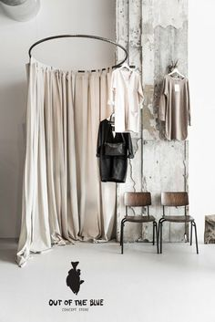 diy retail changing room - Google Search