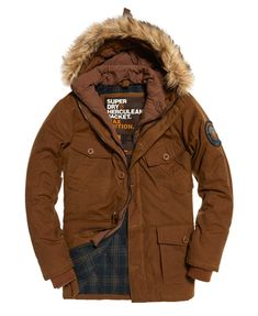 ed94de32c4c Mens - Everest Wax Jacket in Tobacco