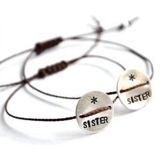 Set of 2 SISTER bracelet