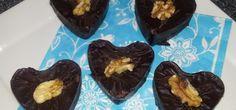 Valentijns Brownies met Chocolade Icing