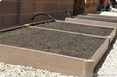 Helpful hints for installing garden grow boxes!