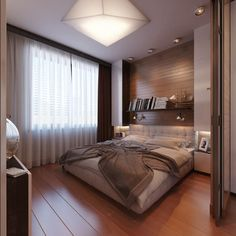 ห้องนอนแต่งสวยมาก