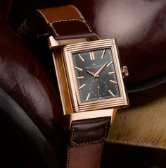94e37fed0de Jaeger-LeCoultre Reverso Tribute Duoface Limited Edition with Casa Fagliano  two-tone strap Acessórios