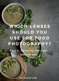 Choosing the right food photography lens is hard. This second part of my photography lens series will help you understand the technical terms so that you can invest in the right camera lens for your food photography! Photography Lessons, Food Photography Styling, Photography Backdrops, Abstract Photography, Digital Photography, Food Styling, Photography Ideas, Levitation Photography, Experimental Photography