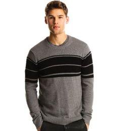 Armani Exchange Links Stitch Crew Sweater, Amazon Gold Box Deal through 2/19/2012, (list price: $88) Sale Price: $69