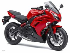 Kawasaki Ninja 650. WANT. Either in the red or the black.