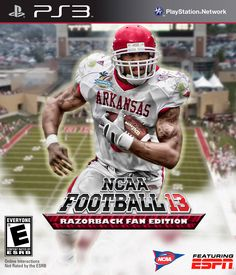 Football Video Games, Football Team, Football Helmets, Darren Mcfadden, Bowl Game, Ea Sports, Arkansas Razorbacks, Sports Figures, Southern Pride