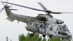 Un helicóptero modelo AS 532AL Cougar Mk2 del Ejército de Turquía.