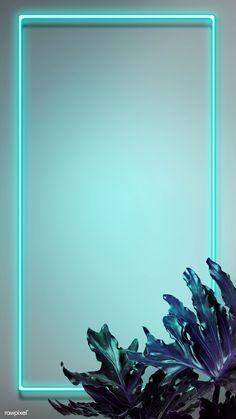 Descargar ilustración prima de neón verde tropical enciende fondo de la pantalla del teléfono por HwangMangjoo sobre fresco, fondo de pantalla iPhone, llevado, neón y el neón
