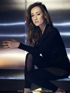 maggie q - my fitness inspiration. So beautiful and so healthy/strong.