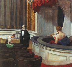 Edward Hopper Two on the Aisle.jpg (600×554)