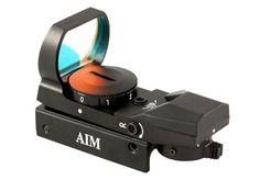 Save $ 10 order now AIM Sports Dual Illuminated Red & Green Dot Sight w/ 4
