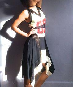 RESERVED - do not buy - Jean Paul Gaultier basketball jersey dress Gaultier  sports jersey dress 69 mesh vtg JPG dress vintage Gaultier 158138b87