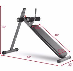 Best Home Ab Machine no. XMark 12 Position Adjustable Decline Ab Bench One of the most common recommendations you hear from exercise experts when you ask about ab exercises, is to get an ab bench for your crunches, situps and other workouts. Outdoor Workouts, Easy Workouts, At Home Workouts, Workout Routines, Ab Machines, Workout Machines, Best Gym Equipment, No Equipment Workout, Fitness Equipment