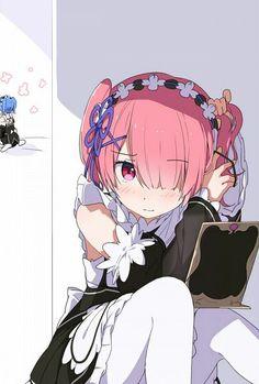 15 Best Ram Re Zero Images Ram Rem Anime Anime Art