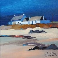 """Pam Carter - """"Two Cottages,Tiree"""""""