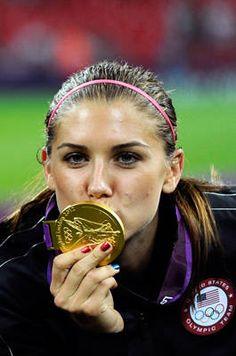 Alex Morgan, the new golden girl of US women's soccer.