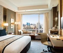 Guestroom at the Kerry Hotel Beijing // © 2012 Shangri-La International Hotel Management Ltd