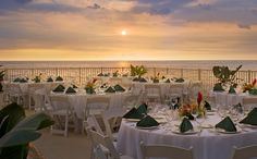 Sunset Reception at Crystal Blue Terrace