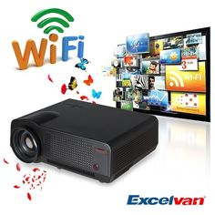 Amazon.com: Excelvan® HD LCD Pico Mini Portable Projector Multimedia LED Pocket Size Projector for Home Theater Cinema Education PC Laptop AV /USB/VGA/HDMI/SD Input (White): Cell Phones & Accessories