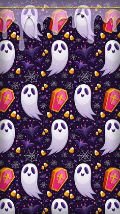 Halloween Season, Spooky Halloween, Happy Halloween, Halloween Decorations, Kawaii Halloween, Halloween Treats, Halloween Wallpaper Iphone, Holiday Wallpaper, Halloween Backgrounds