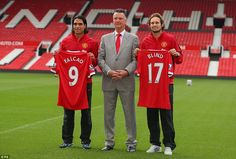 Will they make the difference? The signings of Radamel Falcao and Daley Blind took Louis van Gaal's summer spending to over £150million