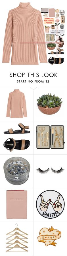 """don't come looking for love"" by em-ily18 ❤ liked on Polyvore featuring Rochas, Margarita, L'Autre Chose, Czech & Speake, Lodis and NARS Cosmetics"