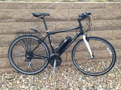 Ebo Phantom Electric Bike Conversion Kit Installed On A Trek 7 1